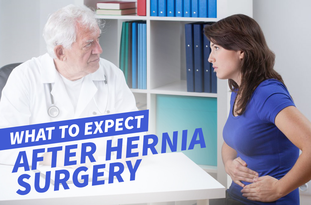 What to Expect After Hernia Surgery | The Surgery Group